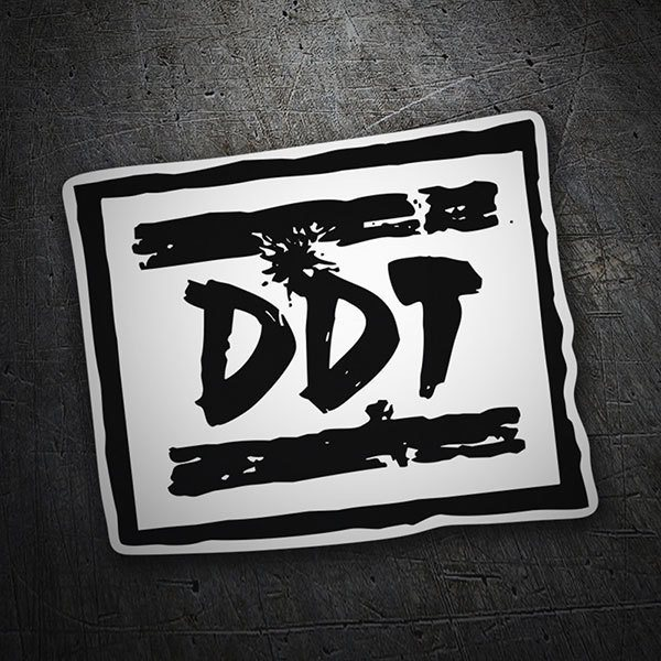 Car & Motorbike Stickers: DDT