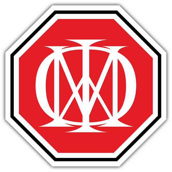Car & Motorbike Stickers: Dream Theater Logo