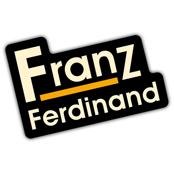 Car & Motorbike Stickers: Franz Ferdinand