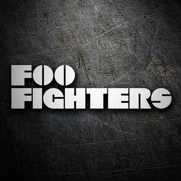 Car & Motorbike Stickers: Foo Fighters Classic