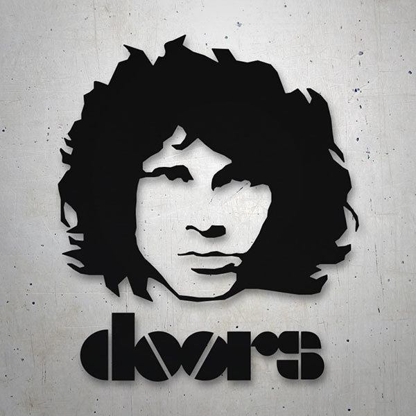 Car & Motorbike Stickers: Morrison The Doors logo
