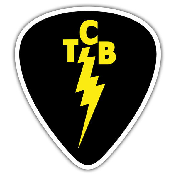 Car & Motorbike Stickers: TCB Elvis Band