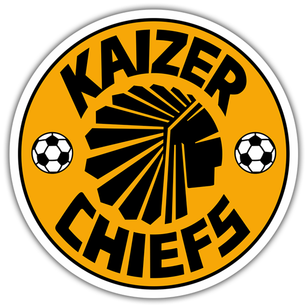 Car & Motorbike Stickers: Kaizer Chiefs Logo