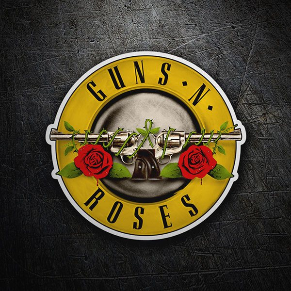 Car & Motorbike Stickers: Guns N 1