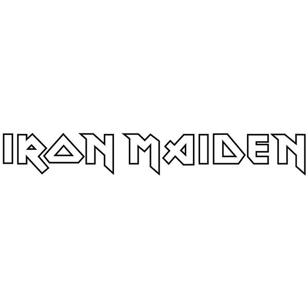 Car & Motorbike Stickers: Iron Maiden Logo