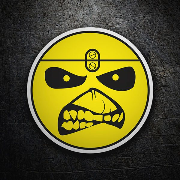 Car & Motorbike Stickers: Eddie - Iron Maiden