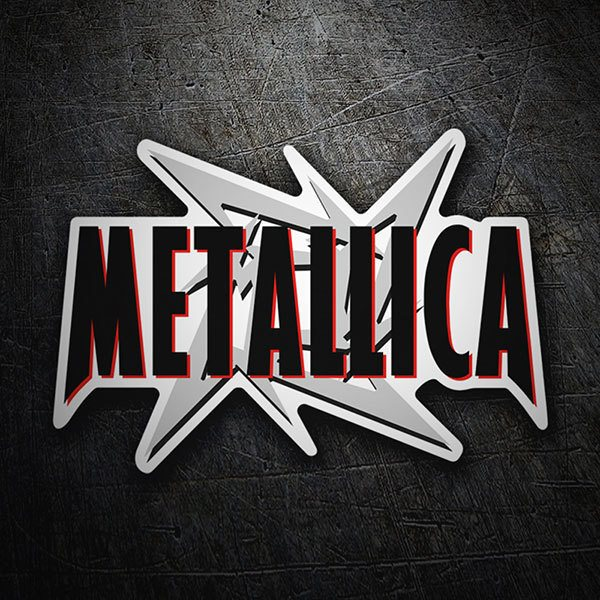 Car & Motorbike Stickers: Metallica Hardwired