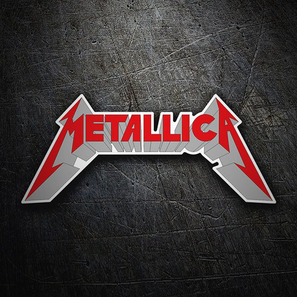 Car & Motorbike Stickers: Metallica