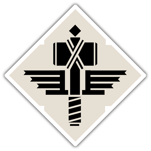 Car & Motorbike Stickers: Manowar Shield