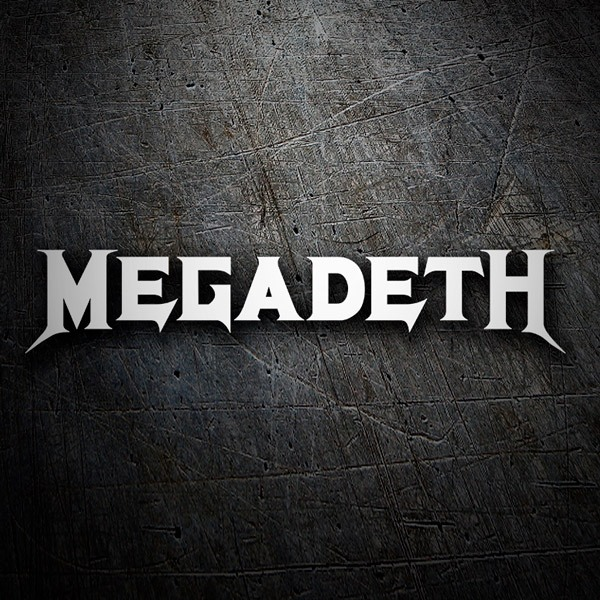 Car & Motorbike Stickers: Megadeth