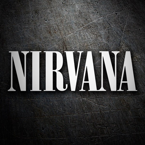 Car & Motorbike Stickers: Nirvana