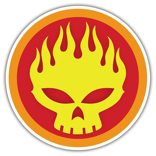 Car & Motorbike Stickers: The Offspring Icon