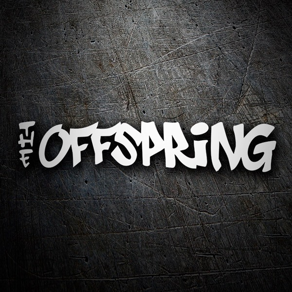 Car & Motorbike Stickers: The Offspring