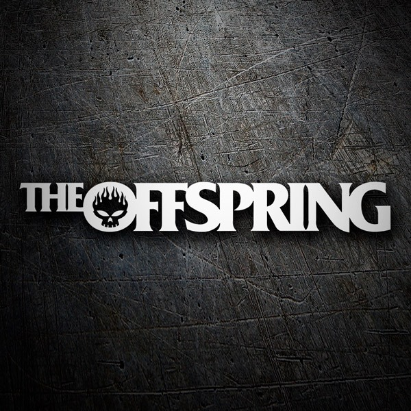 Car & Motorbike Stickers: The Offspring Logo