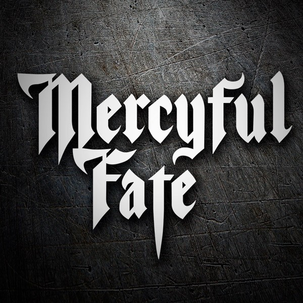 Car & Motorbike Stickers: Merciful Fate