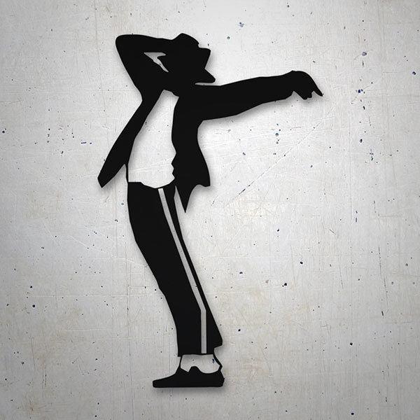 Car & Motorbike Stickers: Michael Jackson - Billie Jean