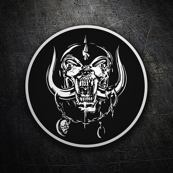 Car & Motorbike Stickers: Motörhead Patch