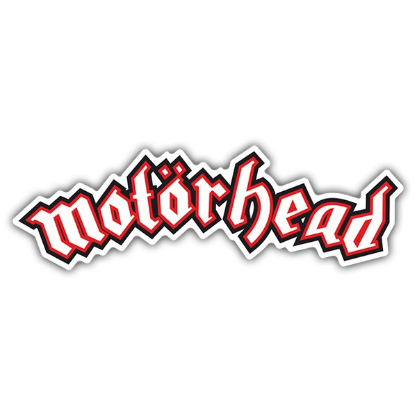 Car & Motorbike Stickers: Motörhead Metal Band