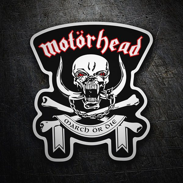 Car & Motorbike Stickers: Motörhead March ör Die