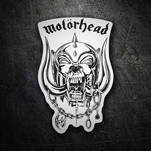 Car & Motorbike Stickers: Motörhead - Snaggletooth White