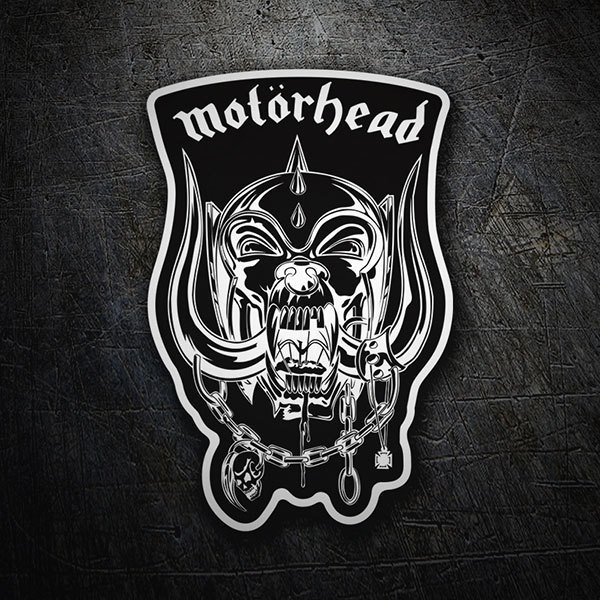 Car & Motorbike Stickers: Motörhead - Snaggletooth Black 1