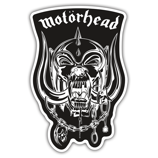 Car & Motorbike Stickers: Motörhead - Snaggletooth Black