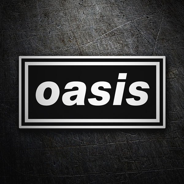 Car & Motorbike Stickers: Oasis