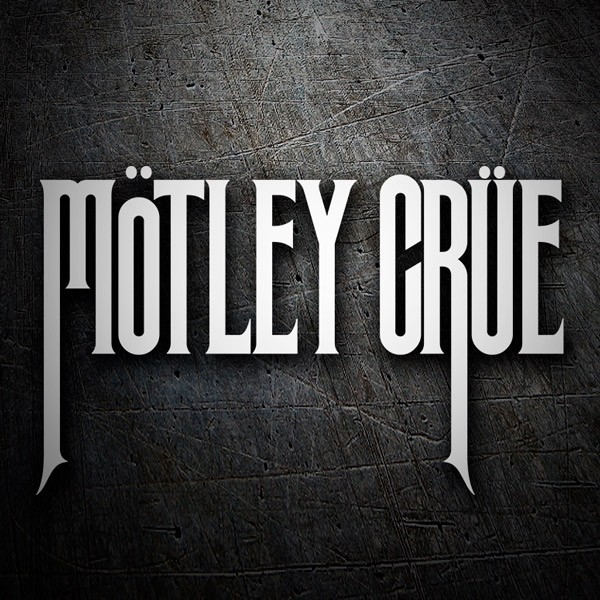 Car & Motorbike Stickers: Mötley Crüe - Theatre of Pain