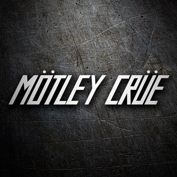 Car & Motorbike Stickers: Mötley Crüe - Too Fast For Love 0
