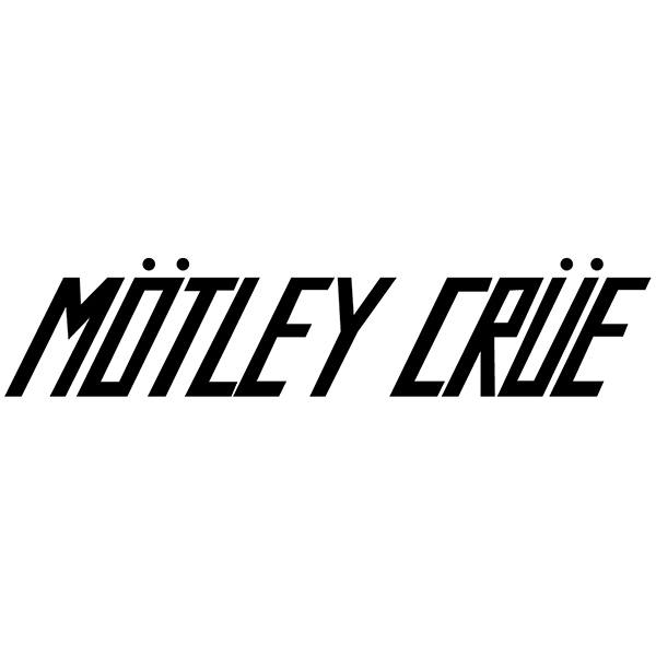 Car & Motorbike Stickers: Mötley Crüe - Too Fast For Love