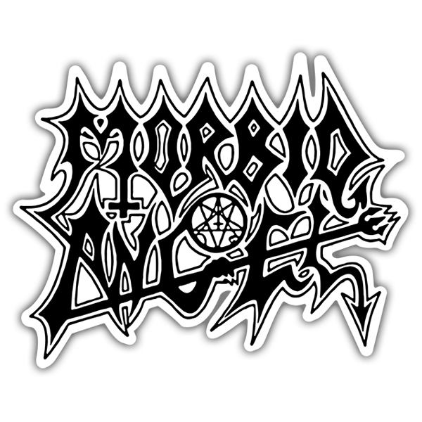 Car & Motorbike Stickers: Morbid Angel Black