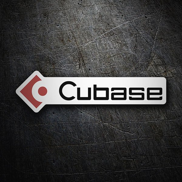 Car & Motorbike Stickers: Cubase
