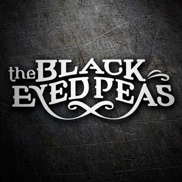 Car & Motorbike Stickers: The Black Eyed Peas