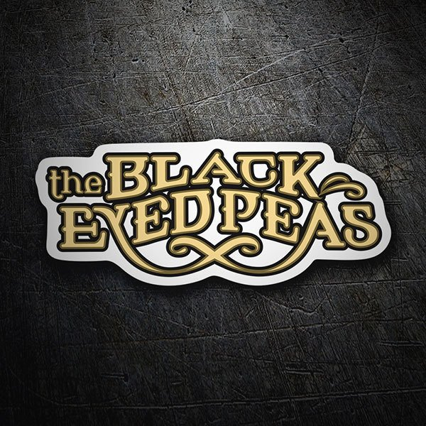 Car & Motorbike Stickers: The Black Eyed Peas Logo