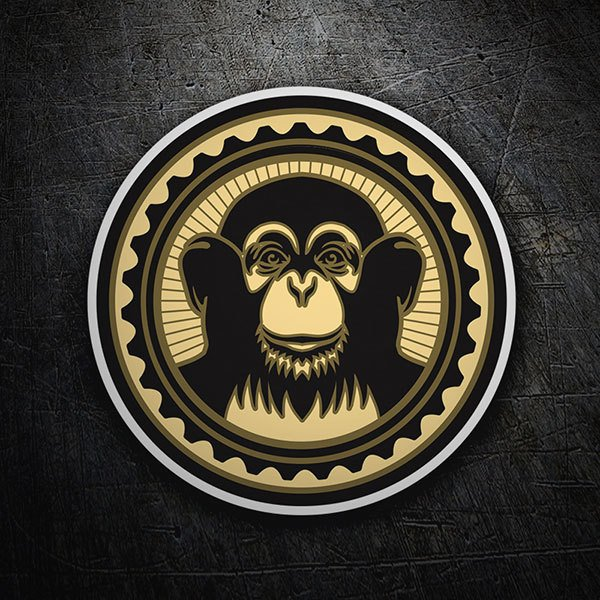 Car & Motorbike Stickers: Monkey - The Black Eyed Peas