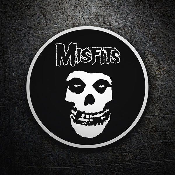 Car & Motorbike Stickers: The Misfits