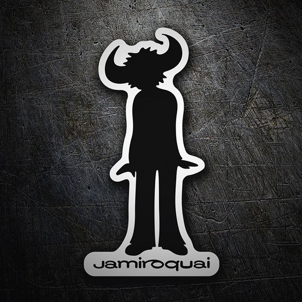 Car & Motorbike Stickers: Jamiroquai logo