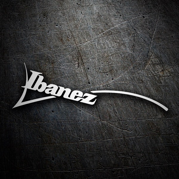 Car & Motorbike Stickers: Ibanez logo