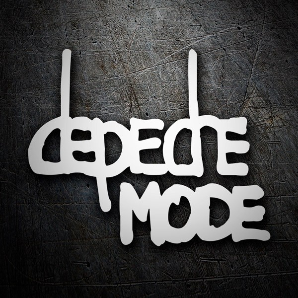 Car & Motorbike Stickers: Depeche Mode