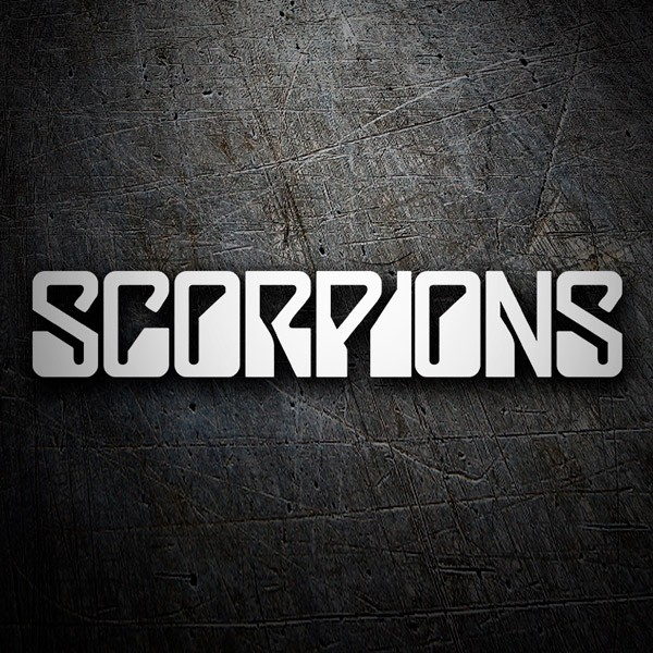 Car & Motorbike Stickers: Scorpions  0