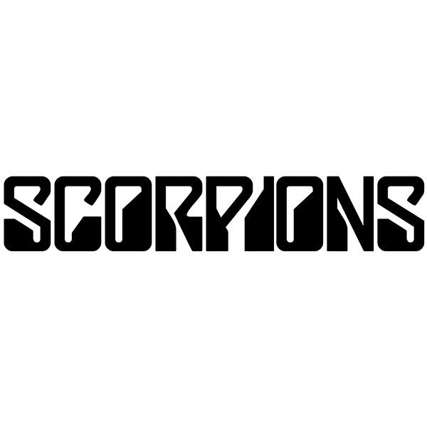 Car & Motorbike Stickers: Scorpions