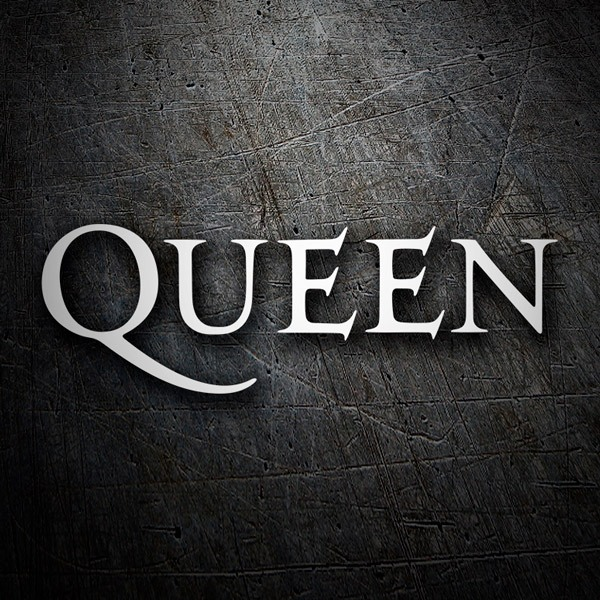 Car & Motorbike Stickers: Queen