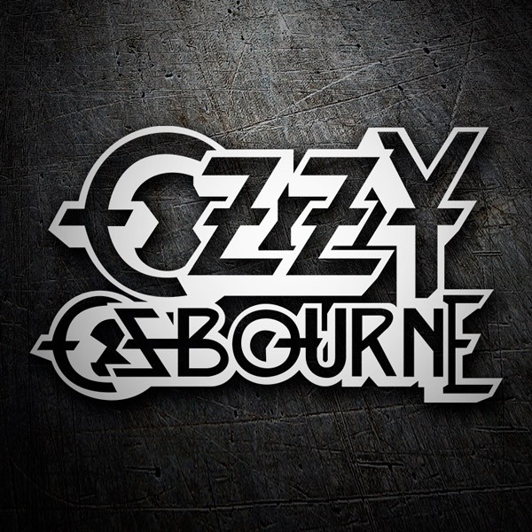 Car & Motorbike Stickers: Ozzy Osbourne