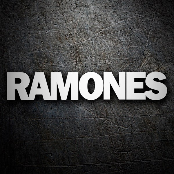 Car & Motorbike Stickers: Ramones Logo