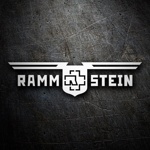 Car & Motorbike Stickers: Rammstein Shield
