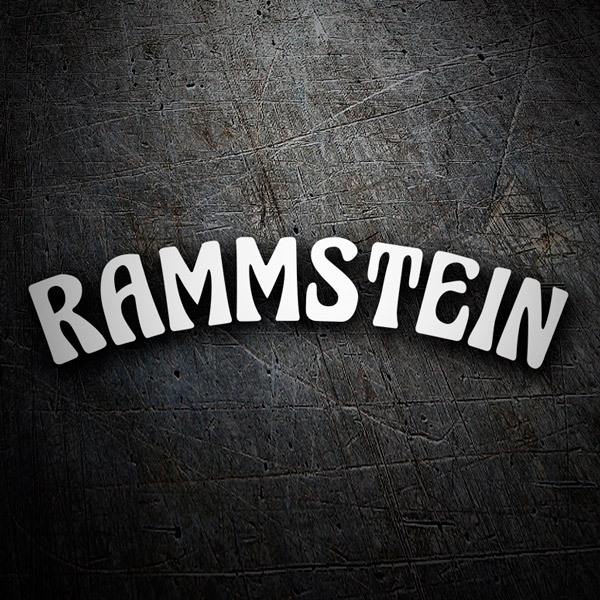 Car & Motorbike Stickers: Rammstein - Mein Land