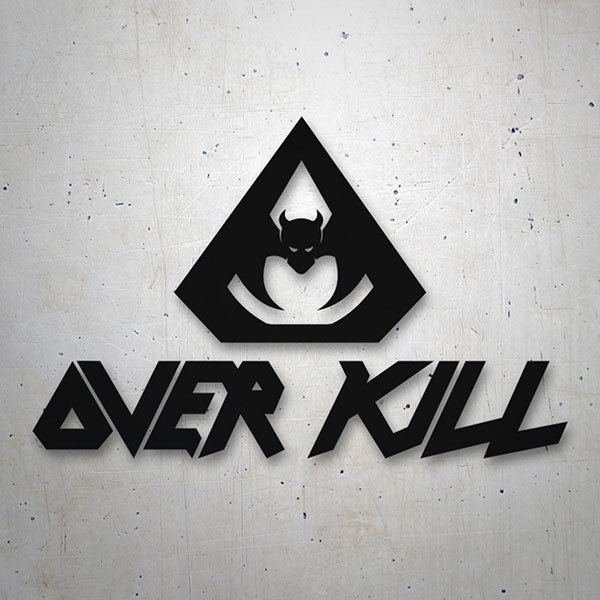 Car & Motorbike Stickers: OverKill 0