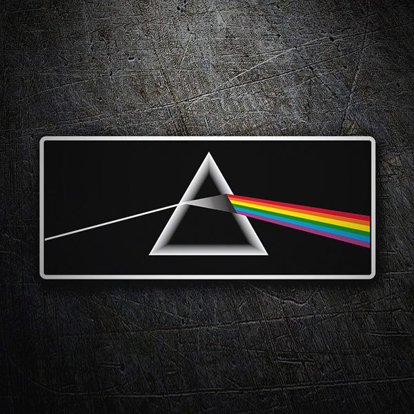 Car & Motorbike Stickers: Pink Floyd - The Dark Side of the Moon