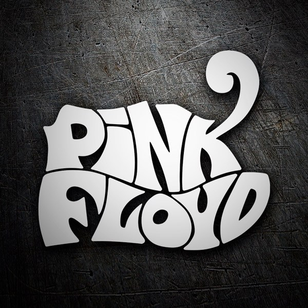 Car & Motorbike Stickers: Pink Floyd Logo