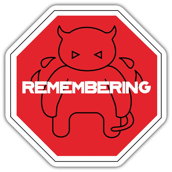 Car & Motorbike Stickers: Radiohead Remembering